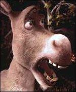 image of donkey from the movie Shrek