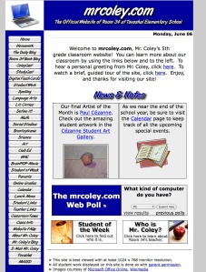 Mr. Coley Homepage