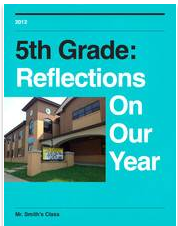 5th Grade:  Reflections on our Year