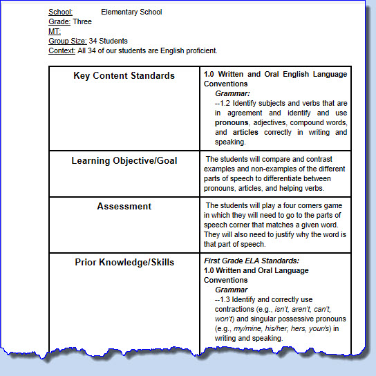 Collaborative Teaching Examples ~ Lesson planning as collaboration in digital environments