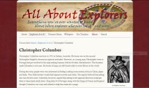 Christopher Columbus fake