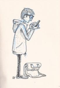 Sketch Texting