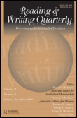 cover of Reading & Writing Quarterly  journal